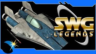 SWG Legends: Jump to Lightspeed - Working on my A-Wing!