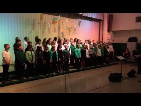 Green Valley Elementary Monrovia MD Winter Chorus Concert Dec. 2016
