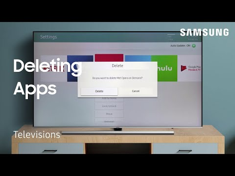 Delete Apps from Smart Hub on your TV - YouTube