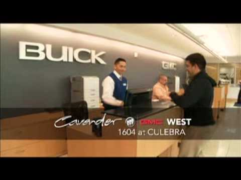 Welcome to the New Cavender Buick GMC Located off 1604 ...