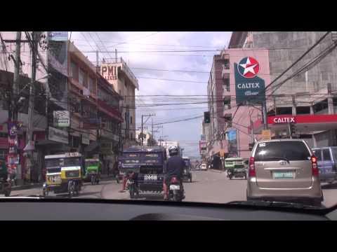 Tagbilaran City and Panglao Island, Bohol drive