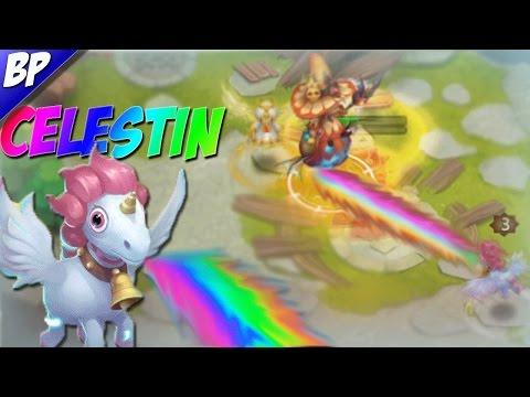 Castle Clash Celestin (unicorn) Review/Gameplay