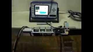 Автоматическая ультразвуковая установка с дефектоскопом Isonic 2010 на ФР(http://www.mnpo-spektr.ru/catalog/ultrazvukovyie-defektoskopyi-na-fazirovannyix-reshetkax/isonic/ Контроль сварного шва трубопровода с использованием..., 2013-09-24T13:24:05.000Z)