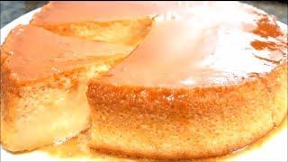 Pudim sem forno e sem gelatina com apenas 3 ingredientes – Super prático e delicioso