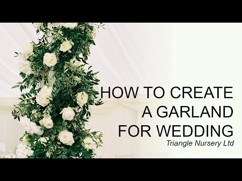 DIY How to Create a Garland Table Runner