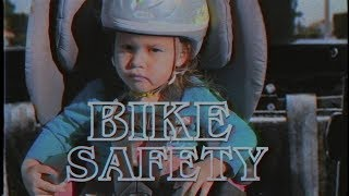 Action Movie Kid: Bike Safety Tips (Stranger Things Style)