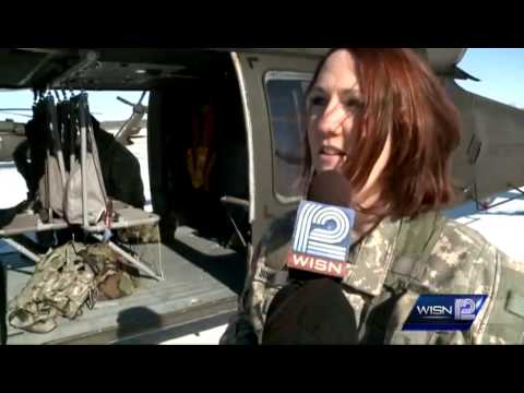 First all-female Black Hawk helicopter medevac crew takes flight
