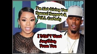 Judge Tells Keyshia Cole FINALIZE YOUR DIVORCE NOW! Bobby Says I want NOTHING From Her