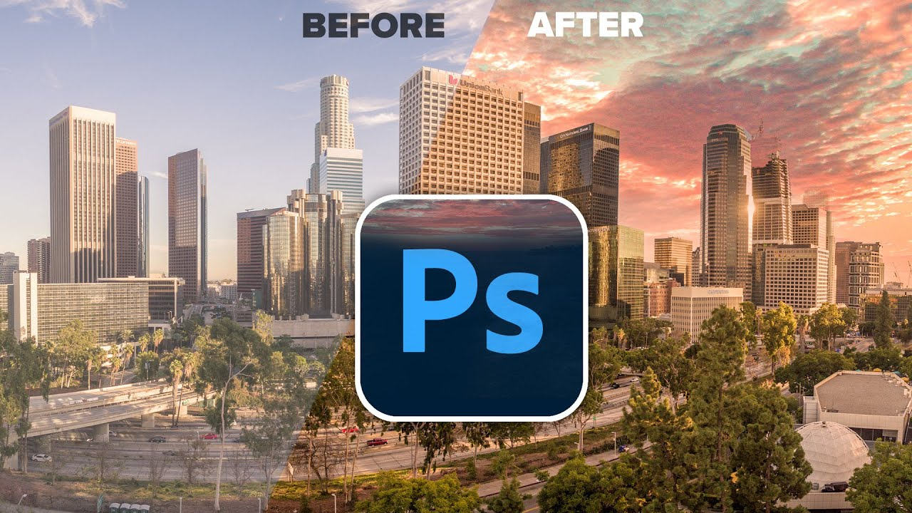 Photoshop 2021 Sky Replacement. Advanced tutorial.