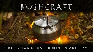Bushcraft Day Camp - Cooking Stew and Dumplings