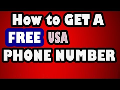 How to Get Free US Virtual Phone Number for Account Verifications 2017