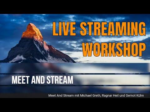Meet And Stream | Microsoft Teams Live Events und Livestreaming im Unternehmen #StreamYard