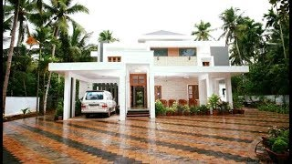 Small Modern Double Floor House 1250 Sft for 13 Lakh | Elevation | Interiors