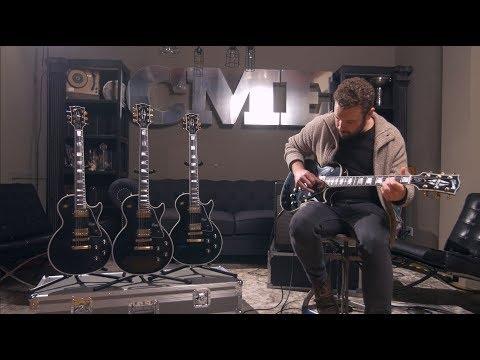 Gibson Custom Shop Ebony Les Paul (CME Exclusive) | CME Gear Demo