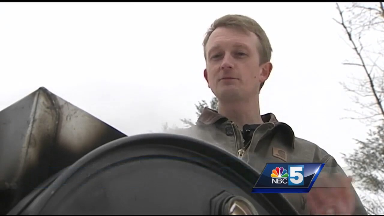 vermonters create portable evaporator to make maple syrup youtube