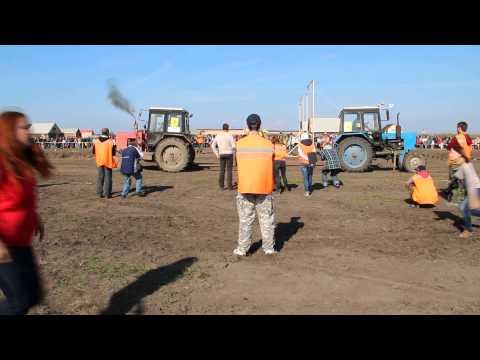 Финал соревнования тракторов 2013