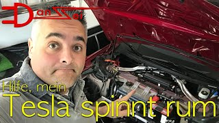 Hilfe, mein Tesla spinnt - klappt der Versuch der Selbst-Hilfe?