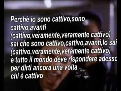Michael Jackson-Bad Traduzione Italiana!