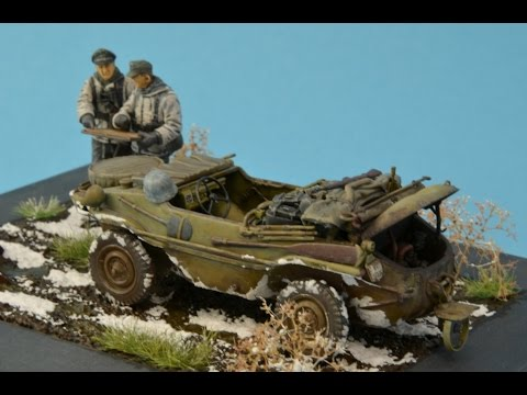 tamiya schwimmwagen type 166 in 1 35 scale youtube. Black Bedroom Furniture Sets. Home Design Ideas