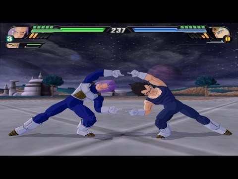 Trunks and Vegeta Fusion (Dragon Ball Z Budokai Tenkaichi 3 Mod) Travel Video