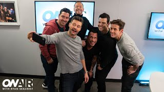 New Kids On The Block On Their New Music | On Air with Ryan Seacrest