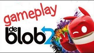 de Blob 2 (PS3 Move) Gameplay