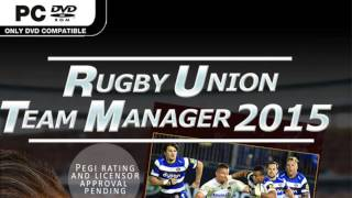 pro rugby manager or rugby union team manager 2015