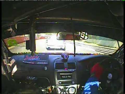 V8 Utes Incar Footage - Clipsal 500 - Rick Bates Driving Race #2.