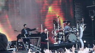 Linkin Park RED SQUARE 2011 Full Concert Transformers III