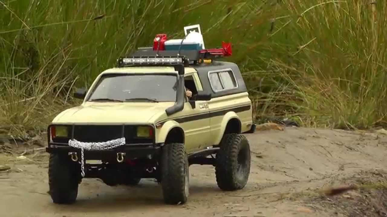 Rc4wd Trail Finder 2 Hilux Aventure By Joker Rc Youtube