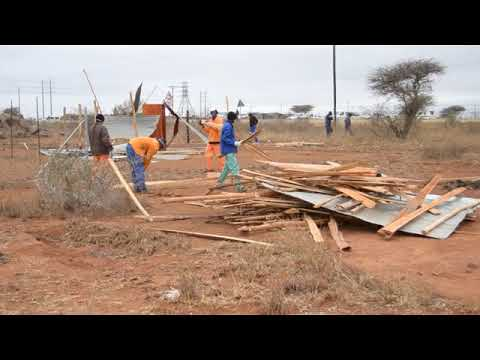 Polokwane Municipality evicts illegal occupants