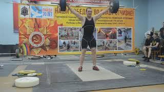 Игорь Шаклеин рывок 140 кг, толчок 180 кг, в.к. 105+ кг