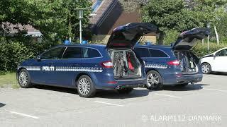 21juni2019 politi efterforsker i Dragør