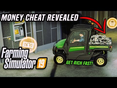 UNLIMITED MONEY in FARMING SIMULATOR 19 - CHEAT REVEALED