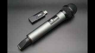 беспроводной динамический микрофон Fifine K034 с USB аудиокартой