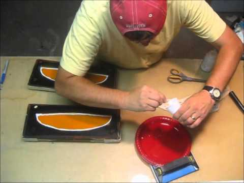 Making a Composite Plane  Laying up the Horizontal Tail 8