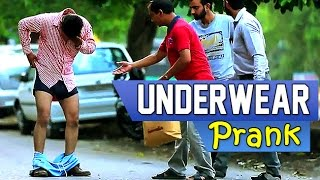 Underwear Prank - Funny Pranks | Just Gags