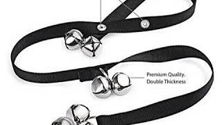 Dog Doorbells Premium Quality Training Potty Great Dog Bells Adjustable Door Bel...