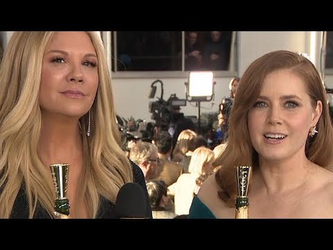 Stars Toast for a Good Cause at the Golden Globes Exclusive