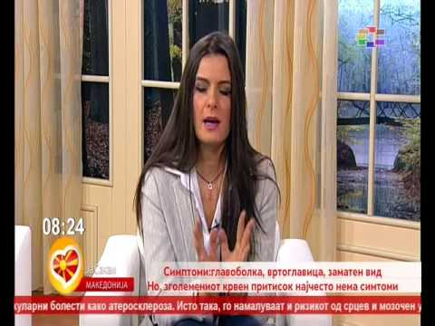 "D-r Arben Asani in the morning show ""I love Macedonia"" on TV Sitel"