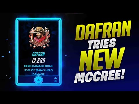 Dafran Tries New McCree! - Overwatch