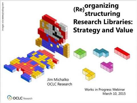 Reorganizing and Restructuring the Research Library for Strategy and Value