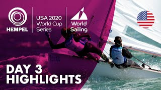Day 3 Highlights | Hempel World Cup Series 2020
