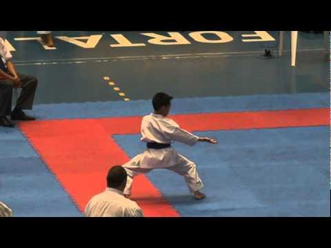 2011 Pan America Championship 12 13 Male Kata USA Derrick Vo