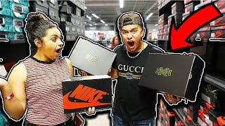 INSANE LEBRON SURPRISE AT NIKE OUTLET!! **$50 SNEAKERS**