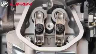 видео Одноцилиндровый четырехтактный двигатель