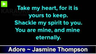 Adore ~ Jasmine Thompson Karaoke Version ~ Karaoke 808