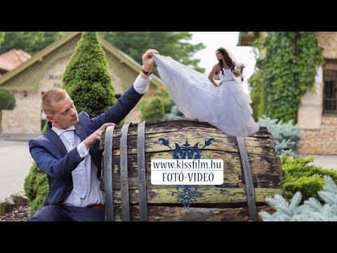 Ildikó és Rémusz esküvője Nyírtasson (Magyar Talléros Pálinkafőzde és Rendezvényház) KISSFILM.HU