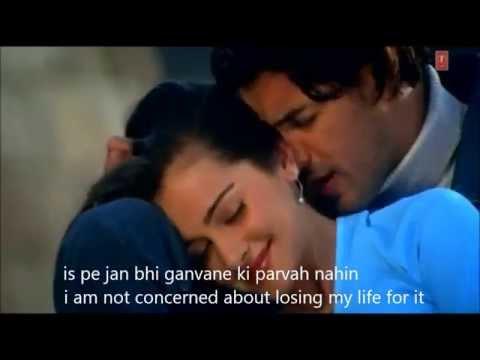 ae meri zindagi Hindi English Subtitles full song HD Saaya