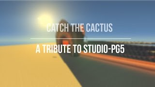 Pg5-studio special: [Minigame] Catch the cactus